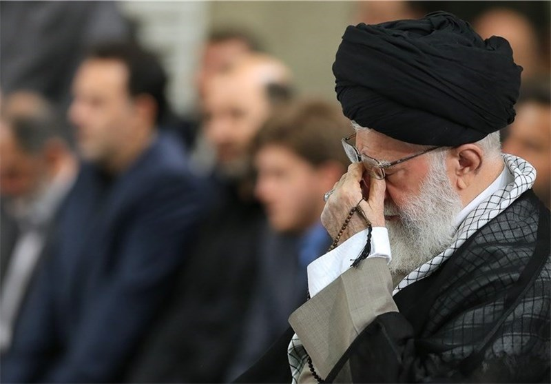 رهبر انقلاب عزاداری سوگواری امام خامنهای