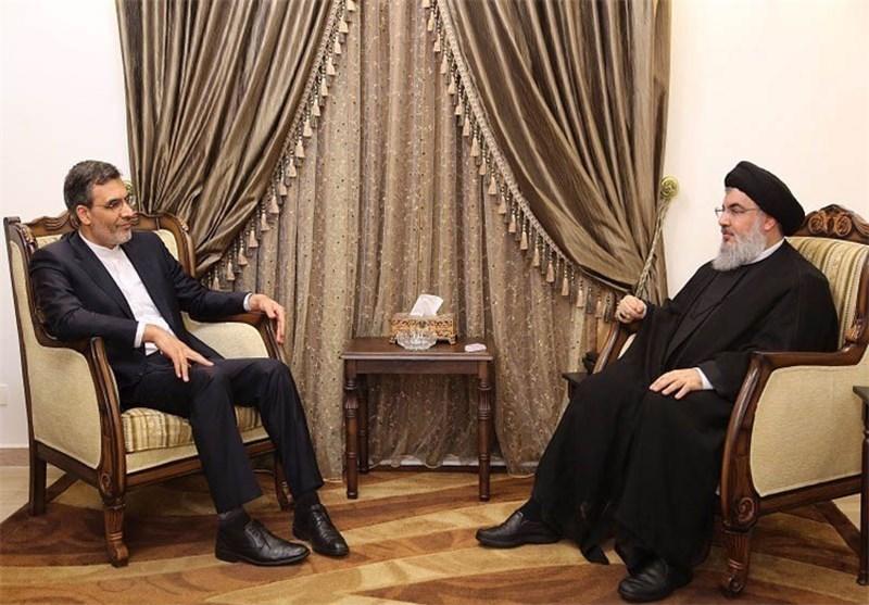 Hüseyin Cabiri Ensari Hasan Nasrallah İle Görüştü