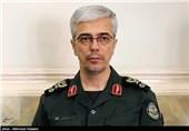 حضور سرلشکر باقری و سردار اشتری در جلسه هیئت دولت