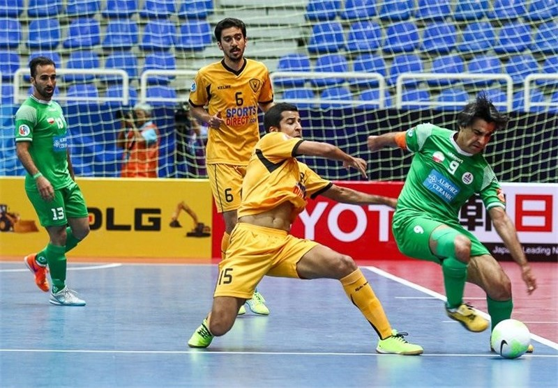 Iran's Tasisat Daryaei Comes 8th at Futsal Int'l Cup