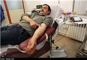 اهدای خون در شب بیست و سوم ماه رمضان - اردبیل