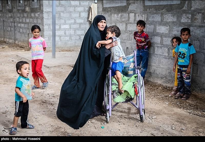 Fallujah's Abu Ghraib Refugee Camp in Iraq