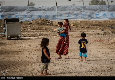 Fallujah's Abu Ghraib Refugee Camp in Iraq