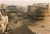 القوات العراقیة تدمر 450 آلیة لداعش هاجمت عامریة الفلوجة