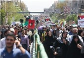 Iranians Mark Int'l Quds Day with Mass Rallies