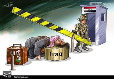 کاریکاتور/ روزهای آخر داعش...