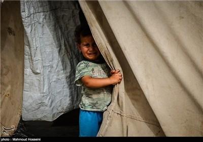 مخیم لاجئی الفلوجة - ابو غریب