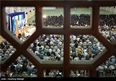 تلاوة القرآن في رمضان المبارك بمدينة تبريز
