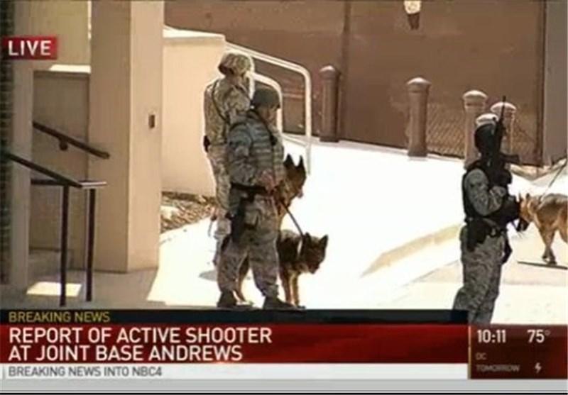 حادثة إطلاق النار فی قاعدة أندروز الجویة إنذار خاطئ