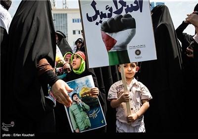 راهپیمایی روز قدس در تهران - 3