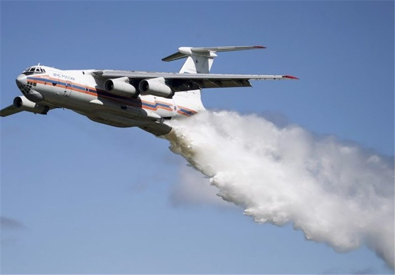 Russian Firefighting Plane Missing with 10 on Board