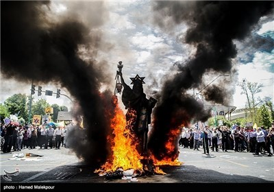 تصاویر منتخب راهپیمایی روز قدس