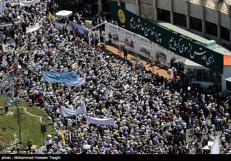 راهپیمایی روز قدس - ارومیه و مشهد