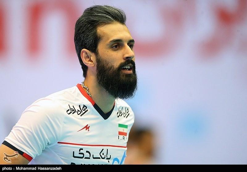 معروف: واقعیت والیبال ایران از ست سوم به نمایش در آمد