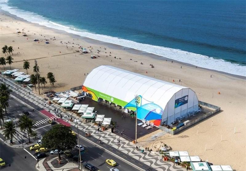 افتتاح فروشگاه بزرگ المپیک در ساحل ریو + تصاویر
