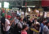 مظاهرة غاضبة فی نیویورک على خلفیة مقتل إمام مسجد ومساعده