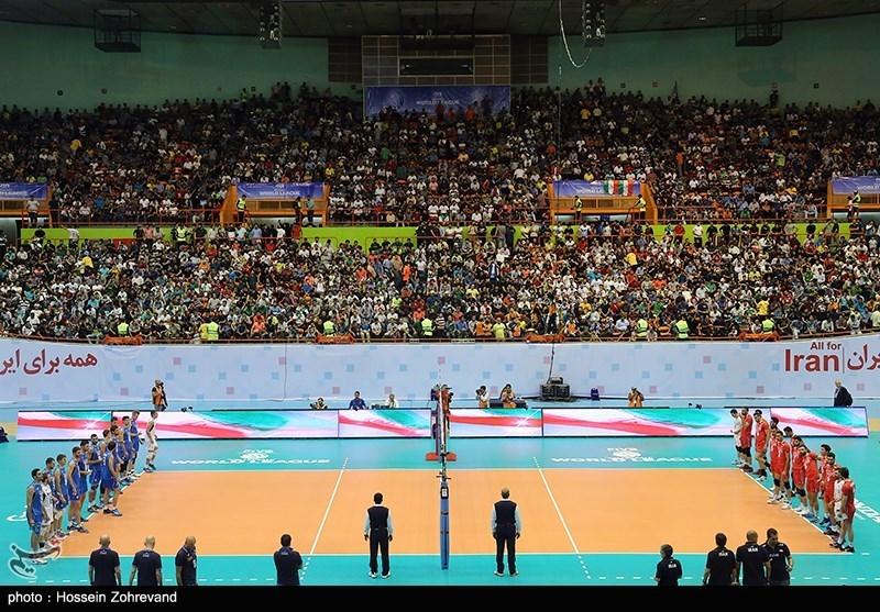 لیگ جهانی والیبال-دیدار ایران و ایتالیا