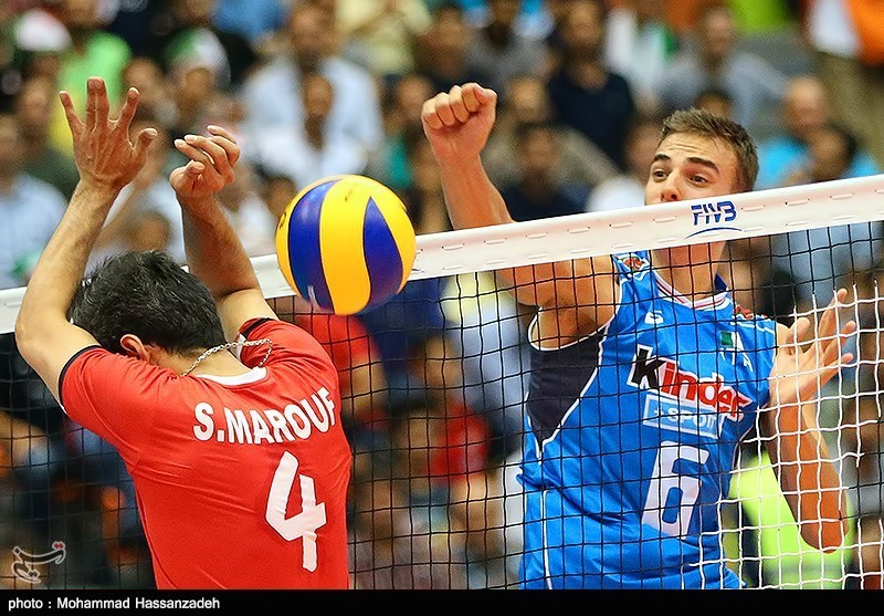 FIVB World League: Iran Beaten by Italy in Straight Sets
