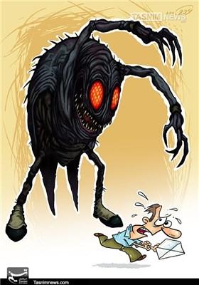 کاریکاتور/ جنگهای نوین بیوتروریسم