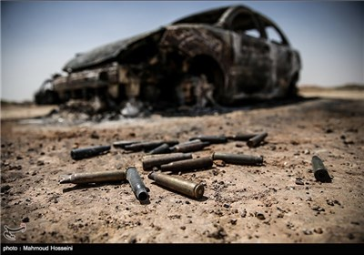بقایا رتل داعش فی محافظة الأنبار