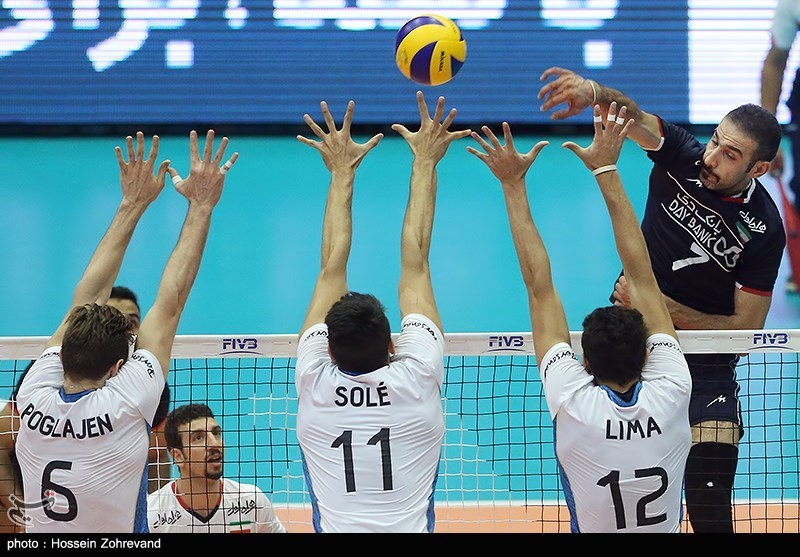 Iran Volleyball Team Invited to Brazil