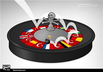 کاریکاتور/ حملات تروریستی در ترکیه