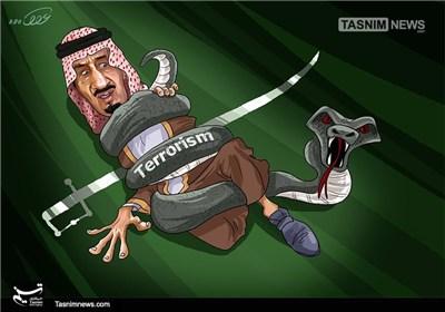 کاریکاتور/ وحشت آلسعود از فرزندخوانده!!!