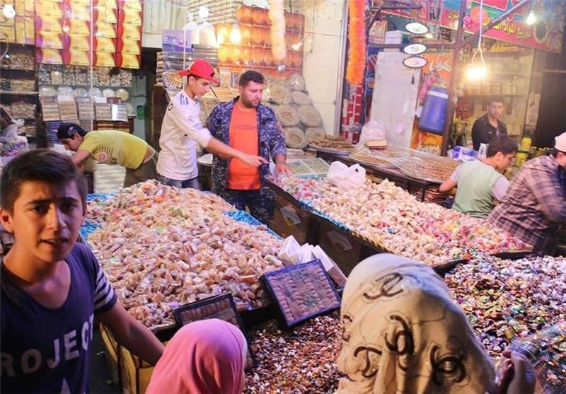 کیف کانت لیلة عید الفطر فی أسواق دمشق +صور