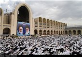 نماز عید فطر - مصلی تهران