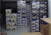 انبار دپوی کالای قاچاق در کرمانشاه کشف شد