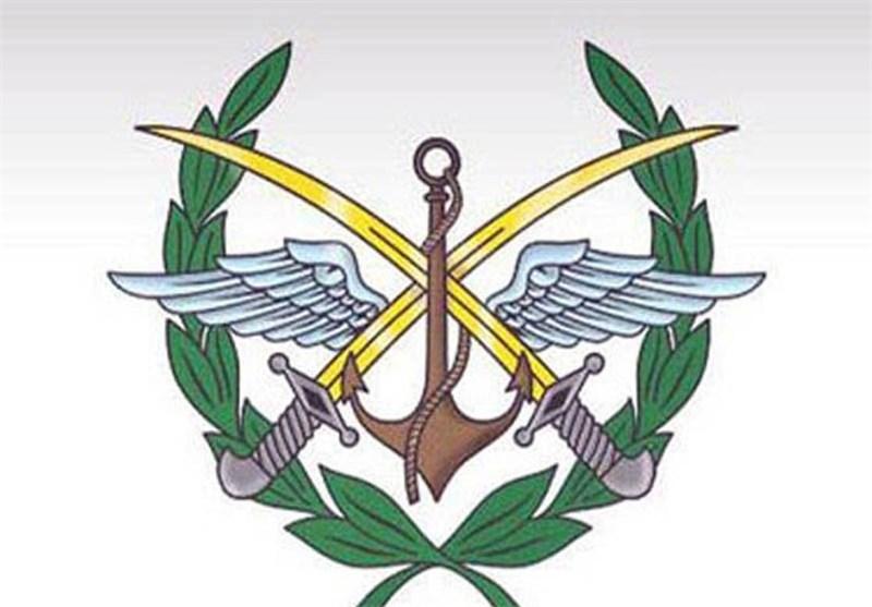 القیادة العامة للجیش: تهدئة لمدة 72 ساعة فی جمیع الأراضی السوریة