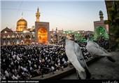نماز عید فطر در حرم مطهر امام رضا (ع)