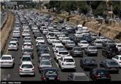 ترافیک سنگین محور کرج - قزوین