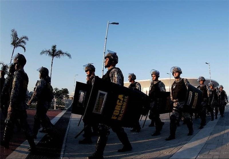 فرودگاه ایلام خبرگزاری تسنیم - افزایش تدابیر امنیتی برزیلیها در آستانه ...