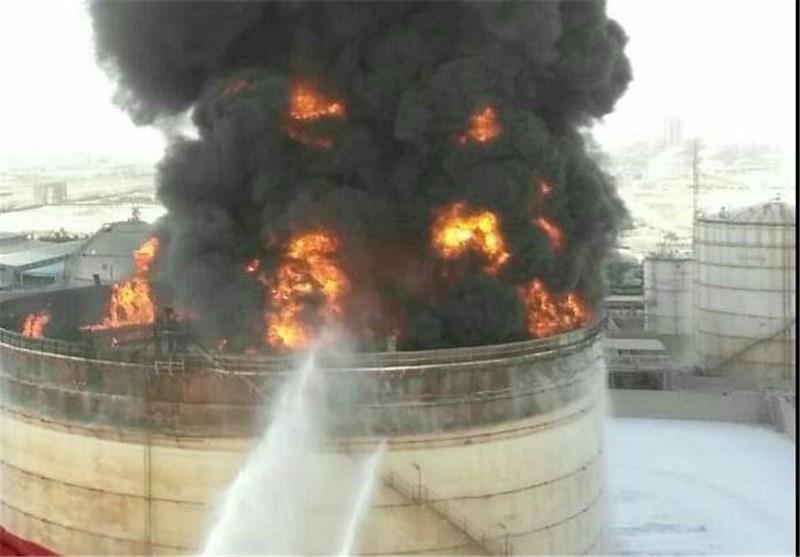 Firefighters Still Battling Blaze in Petrochemical Complex in Iran's Mahshahr (+Video)