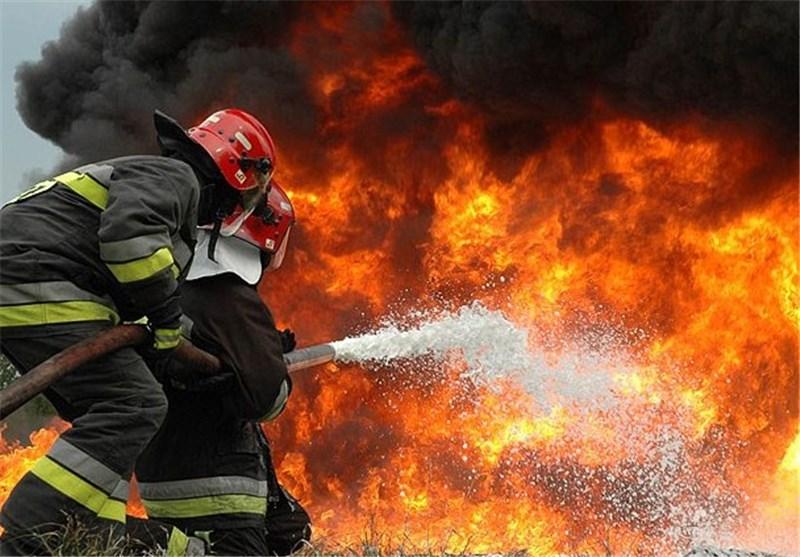 آتش در پتروشیمی