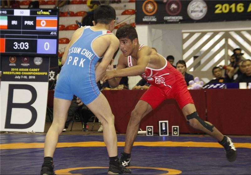 Asian Cadet Wrestling Championship: Iran Greco Roman Team First, Freestylers Third
