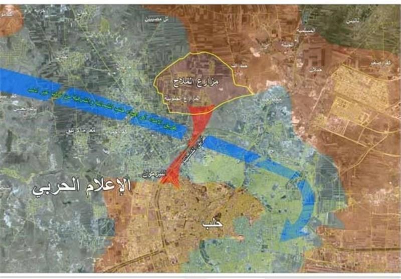 مزارع الملاح در ریف حلب