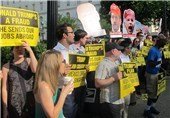 Anti-Trump Protesters Hold Rally ahead of the Republican National Convention