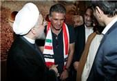 دیدار اعضای تیم ملی با رئیس جمهور/ احتمال حضور روحانی و جهانگیری در جشن صعود به جام جهانی
