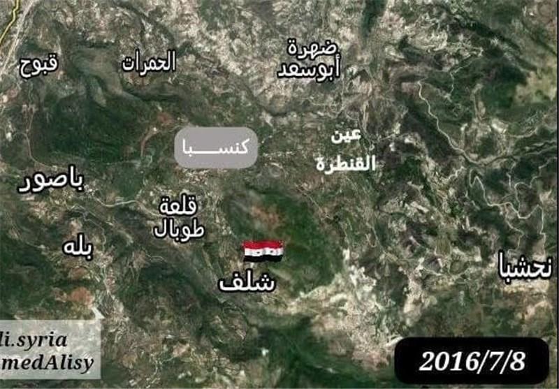 سوریه/ نقشه
