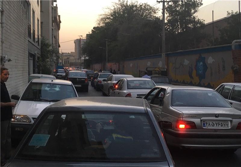 تهران پارکینگ خودروها/دغدغه ای به نام جای پارک