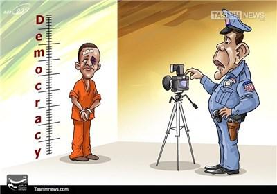 کاریکاتور/ دموکراسی آمریکایی