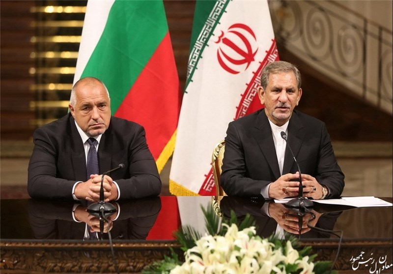 Iran, Bulgaria Resolved to Boost Bilateral Ties: VP