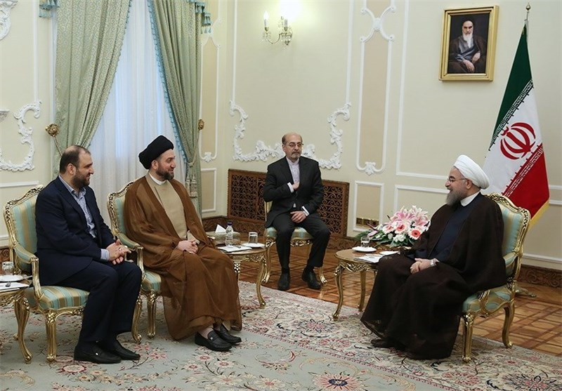President Vows Iran's Support for Iraq against Terrorism