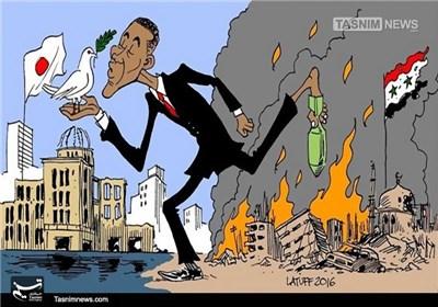 کاریکاتور/ جنگ افروز شماره یک جهان