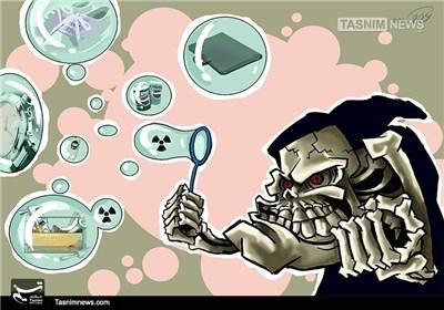 کاریکاتور/ حمله بیوتروریستی!!!