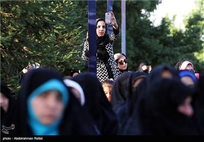 راهپیمایی حجاب و عفاف در همدان