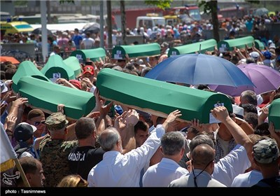 Funeral Held for 127 Victims of 1995 Killings in Bosnia