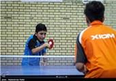 مسابقات پینگ پنگ نونهالان کشور در همدان
